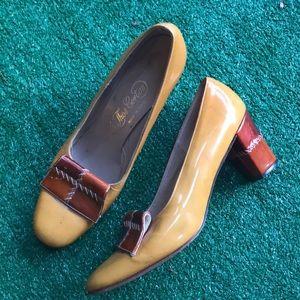Vintage Thomas Cort heels shoes 8 aa 40s 50s USA